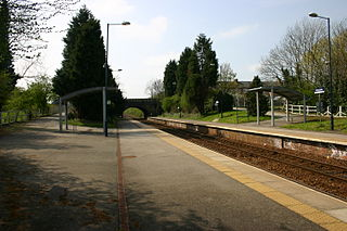 Dinsdale railway station serving Low Dinsdale and Middleton St George