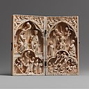 Diptych with the Coronation of the Virgin and the Last Judgment MET DP102832.jpg