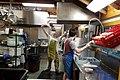 Dishwashing in a large kitchen.jpg