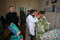 Distribution of humanitarian aid in maternity hospital in Stakhanov 80 (20733175120).jpg