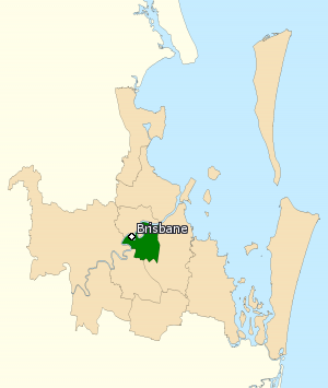 Division of Griffith - Division of Griffith in Queensland, as of the 2016 federal election.