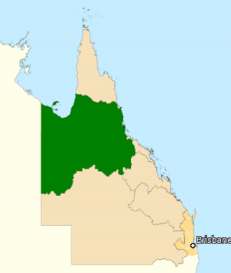 Division of Kennedy - Division of Kennedy in Queensland, as of the 2016 federal election.