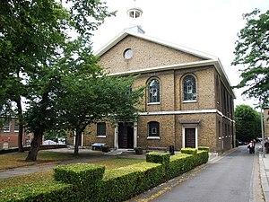 Edward Holl - Chatham Dockyard Church, designed by Edward Holl