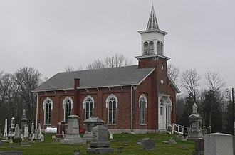 Washington Township, Wayne County, Indiana - Doddridge Chapel, a historic place in the township