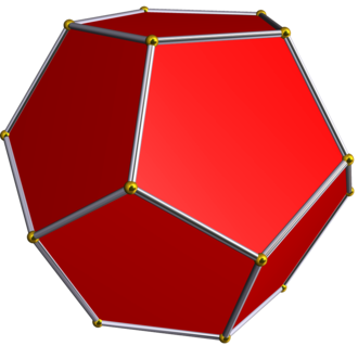 Euler characteristic - Image: Dodecahedron
