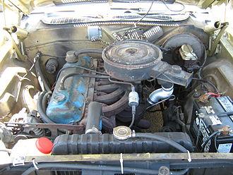 Chrysler Slant-6 engine - Slant-six in a Dodge Challenger