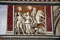 Domenico ghirlandaio, monocromi della cappella tornabuoni (annuncio a zaccaria), 1485-90, 01.jpg