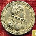 Domenico poggini, medaglia di francesco de' medici (e giovanna d'austria), argento.JPG