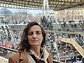 Dominique Sels devant Saint-Eustache, Paris, janvier 2021.jpg
