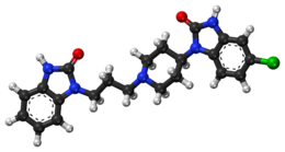 Domperidone ball-and-stick model.png