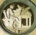 Donatello, tondo di san luca, 1434-43.jpg