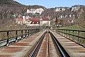 Donaueisenbahnbrücke Kloster Beuron (2018).jpg