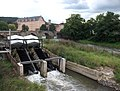 Doppel-Wasserkraftschnecke in der Werra - panoramio.jpg