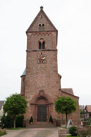 Dorfprozelten - St. Vitus, Romanesque Revival church