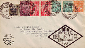 Dornier DO-X Rio - New York First Flight Cover 1931.jpg