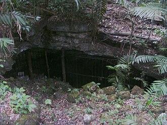 Dos Pilas - Cave entrance near El Duende