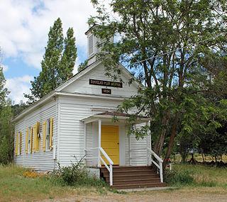 Douglas Flat, California Unincorporated community in California, United States