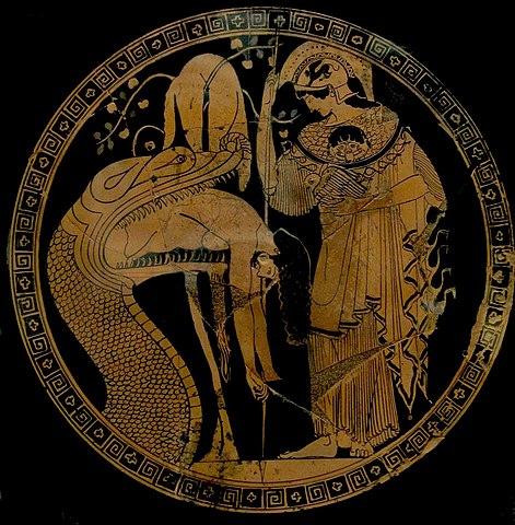 Athena in aegis