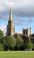 Downing College, Cambridge - across Paddock.JPG