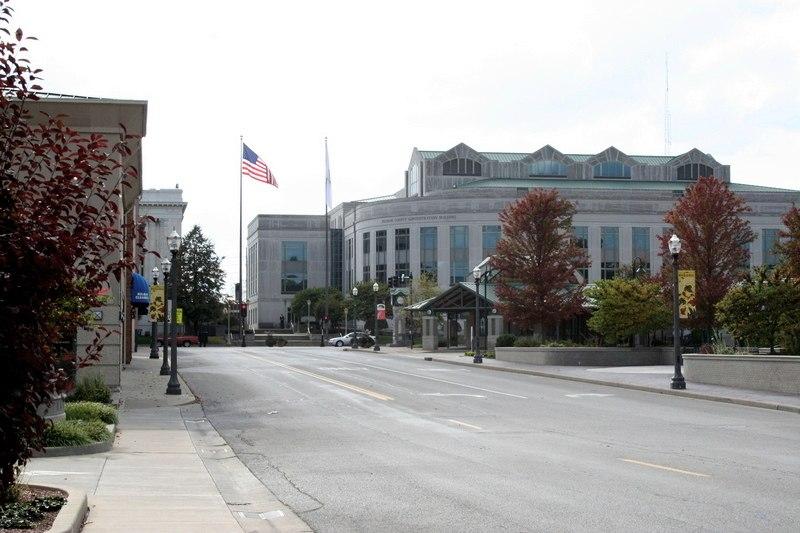 Downtown Edwardsville Illinois