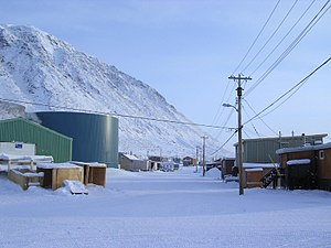Grise Fiord - Image: Downtown Grise Fiord