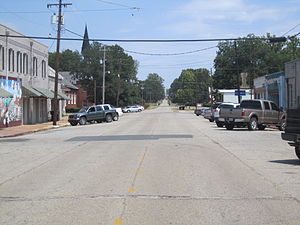 Plain Dealing, Louisiana - Image: Downtown Plain Dealing, LA IMG 5164