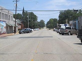 Plain Dealing, Louisiana - Image: Downtown Plain Dealing, LA IMG 5164