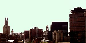 Downtown Rochester - Image: Downtown West