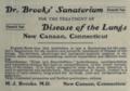 """Dr. Brooks' Sanitarium (""""American medical directory"""", 1906 advert).png"""