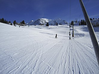 Les Houches - Image: Draglift at Les Houches