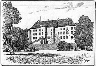 Dragsholm Castle - Dragsholm Castle in 1896