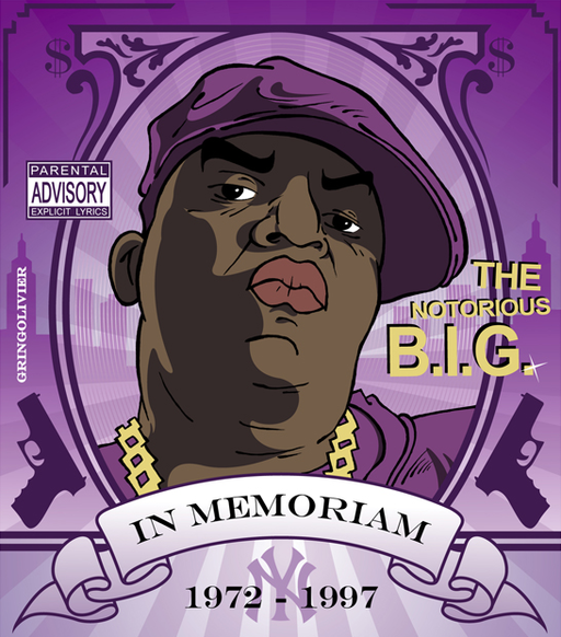 Drawing The Notorious B.I.G.