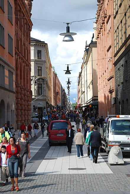 affärer på drottninggatan stockholm