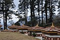 Druk Wangyal - 108 Chortens at Dochula on Thimphu-Punakha Highway - Bhutan - panoramio (19).jpg