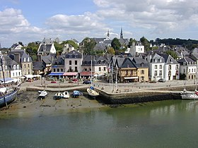 Le port Saint-Goustan.