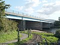 Dual carriageway crossing the River Leven - geograph.org.uk - 1018044.jpg