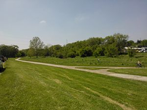 Duck Creek Parkway - Image: Duck Creek Parkway Davenport, Iowa