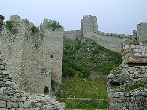 Golubac Fortress - Forward compound