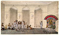 Durga Puja, 1809 watercolour painting in Patna Style.jpg
