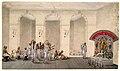 Durga Puja, 1809 watercolour painting in Patna Style.jpg