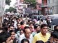 Durga Puja Spectators - New Alipore Suruchi Sangha - Kolkata 2011-10-03 030324.JPG