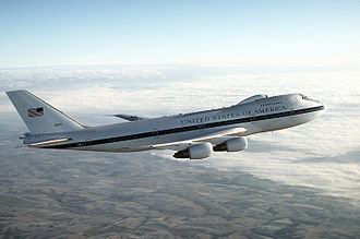 55th Operations Group - Boeing E-4B Nightwatch, 73-1676, of the 1st ACCS, the command plane of the United States Air Force