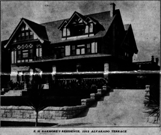 Edmond H. Barmore - E. H. Barmore Residence, 1909
