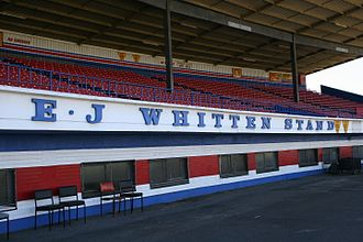 Whitten Oval - The E.J. Whitten Stand