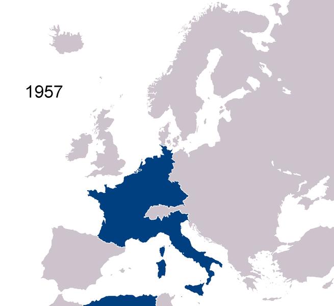 comunidad economica europea 1957: