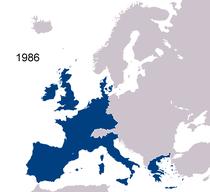 Avrupa topluluğu haritası (1986)