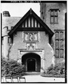 ENTRANCE TOWER EAST - Stan Hywet Hall, 714 North Portage Path, Akron, Summit County, OH HABS OHIO,77-AKRO,5-117.tif