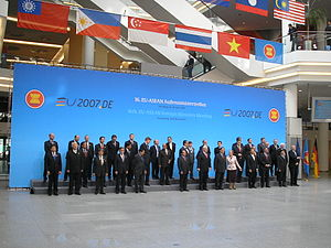 Meeting of the European Union-ASEAN foreign mi...