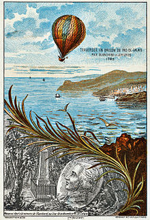 the first balloon flight over the English Channel