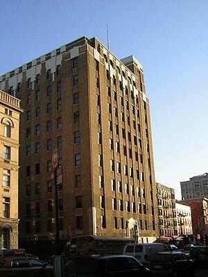 1975 New York Telephone Exchange fire - New York Telephone (now Verizon) 204 Second Avenue building in January 2008.